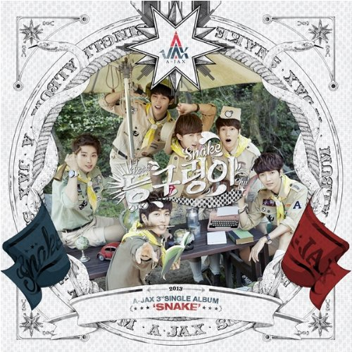 [KPOP CD] A-Jax - 3rd Single Album / Snake (1CD)[003kr]