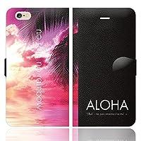 iPhone6S iPhone6 手帳型 ケース カバー ハワイアンモデル 3-N ブレインズ HAWAII ハワイ ALOHA アロハ ハワイアン 海
