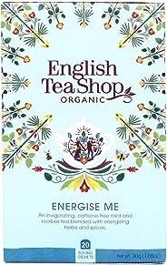 English Tea Shop Organic Wellness Energize Me, 20 Teabags