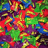 Zappo Drops x 50 - Assorted Flavours Party Favours Lollies Bulk Candy Buffet Halloween Trick Or Treat 4g Per Drop Wrapped Var