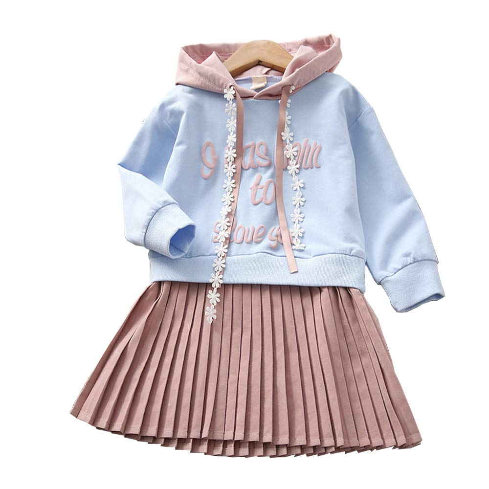 7624aa37bee6c Girls Dress Long Sleeve Girls Brushed Back 100% Cotton Kids Clothes Stripe  Pattern Casual Daily Wear Cute Popular Splice Gift Autumn Winter 100 110  120 130 ...