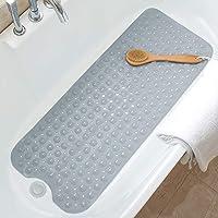 Gelrova 浴槽 すべり止めマット お風呂マット 転倒防止 すべり止め 介護用 浴槽用 吸盤つき 抗菌防カビ (10…