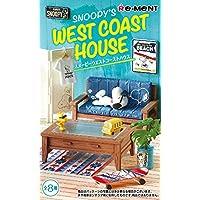 スヌーピー SNOOPY'S WEST COAST HOUSE BOX商品 1BOX=8個入り、全8種類