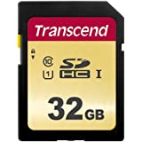 Transcend SDHCカード 32GB MLC NAND 採用 UHS-I Class10 (最大転送速度95MB/s) TS32GSDC500S-E【Amazon.co.jp限定】