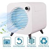 MindSpoon Portable Air Cooler, Mini Mobile Air Conditioner, 4-in-1 Mini Air Conditioner Cooler and Humidifier, Purifier and A