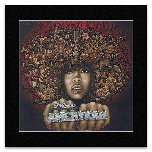 ERYKAH BADU - New Amerykah 2008 Mini Poster - 23.5x23.5cm