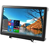 Elecrow 10.1 Inch Raspberry Pi 1920X1080p Resolution HDMI VGA Display Monitor IPS PS3 PS4 Gaming Screen with Build-In Speaker