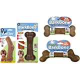 Pet Qwerks Nylon Dog Chew Toys Variety Pack for Aggressive Chewers   for Large & Medium Dogs (PQVP2)