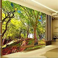 Sproud 大規模なカスタム壁紙ビッグツリー横長の 3D ステレオベッドルームはリビングルームの Tv の背景 Papel De Parede Para Estar Sala 400 Cmx 280 Cm
