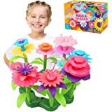Jellydog Toy Flower Garden Building Toys,Build a Bouquet Floral Arrangement Playset for Toddler Girls 3 Year, Creative Arts a