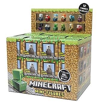 マインクラフト ミニフィギュア トロッコシリーズ 36個入りBOX