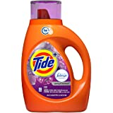 Tide Plus Febreze Freshness HE Turbo Clean Liquid Laundry Detergent, Spring and Renewal Scent, 1.36L