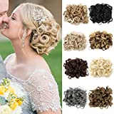 Hair Extensions Wavy Curly Messy Hair Bun Extensions Hair Chignons Hair Piece Wig Hairpiece Scrunchy Scrunchie Hair Bun Updo Hairpiece Hair Ribbon Ponytail Extensions