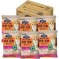 花王 ニャンとも清潔トイレ脱臭・抗菌チップ小さめの粒 2.5L×6個入り (ケース販売) [猫砂]