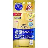 スキンアクア (skin aqua) UV スーパー モイスチャージェル 最強ゴールドUV 日焼け止め 無香料 110グラム (x 1)