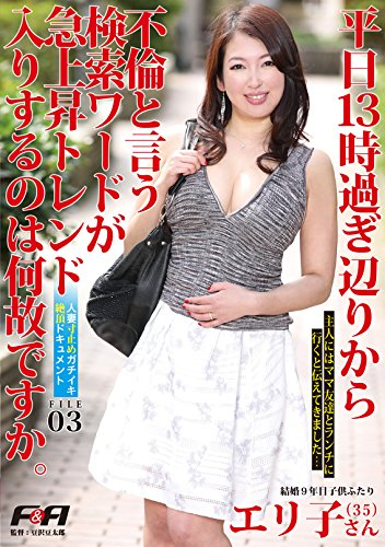 人妻寸止めガチイキ絶頂ドキュメント FILE03 [DVD]