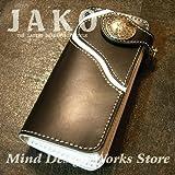 JAKO バイカーズ ウォレット JK-W14 サドルレザー 本革 レザーウォレット (ジャコ)