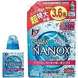 トップ スーパーナノックス 洗濯洗剤 液体 本体450g+詰め替え超特大1300g
