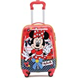 Disney - Minnie Mouse 17in Small 4 Wheel Hard Suitcase