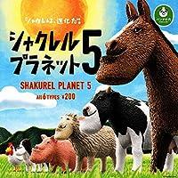 ガチャ パンダの穴 シャクレルプラネット5 全6種セット
