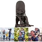 チャイルドキャリアシートハイキングや旅行に適した子供用の携帯ストラップ折りたたみ式チャイルドキャリア,グレー