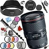 Canon EF 16–35mm f4l is USMレンズと67mmフィルタセットプラスアクセサリーバンドル