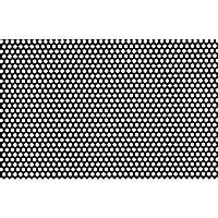 株 奥谷金網製作所 OKUTANI 樹脂パンチング 1.0TXD5XP8 910X910 グレー JP-PVC-T1D5P8-910X910/GRY
