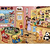 Bits and Pieces???300大きいピースジグソーパズルfor Adults???Tim 's Toy Store???300?pcローカルShop Jigsaw by Artist Kay Lamb Shannon