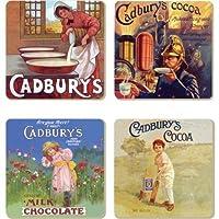 Cadbury - Vintage Advert Coaster Set