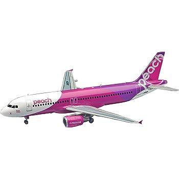ハセガワ 1/200 ピーチ・アヴィエーション エアバス A320 プラモデル 41