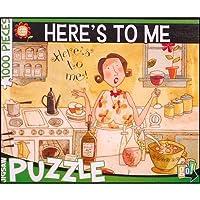 "Karen Hillard Good""Here's to Me"" 1,000 Piece Jigsaw Puzzle by Go"