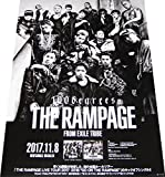 THE RAMPAGE from EXILE TRIBE『100degrees』 CD告知ポスター