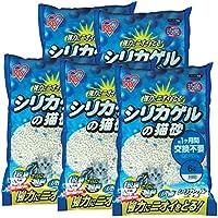 アイリスオーヤマ シリカゲルの猫砂 6L×5袋 SGN-60KNN-700