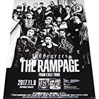 THE RAMPAGE from EXILE TRIBE『100degrees』 CDポスター