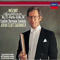モーツァルト:交響曲第31番「パリ」&第34番