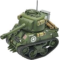 モンモデル ワールドウォートゥーンズシリーズ イギリス中戦車 シャーマンファイアフライ 色分け済みプラモデル MWWT008