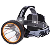 Hunting friends Separation Style LED Headlamp Rechargeable Head Lamp Waterproof Headlight Coon Hunting Lights for Outdoor (Wh