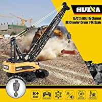 Ququack HUINA 1572 15CH RC Alloy Crane 1/14 2.4GHz Engineering Construction Truck Car