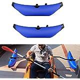 Lixada 2Pcs Kayak PVC Inflatable Outrigger Kayak Canoe Fishing Boat Standing Float Stabilizer System(Without Metal bar)