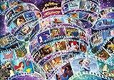 108ピース ジグソーパズル ディズニー アニメーション ヒストリー(55作品) 【ホログラムジグソー】 (18.2x25.7cm)