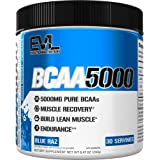 Evlution Nutrition BCAA5000 Powder 5 Grams of Branched Chain Amino Acids (BCAAs) Essential for Performance, Recovery, Enduran