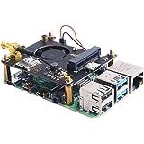 GeeekPi RPi 4G / 3G Hat for Raspberry Pi Zero/Zero W/Zero WH/2B/3B/3B+/4B,Jetson Nano,Supports SMS, MMS, Mail, TCP, UDP, DTMF