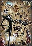 1000ピース ジグソーパズル ナイトメアー・ビフォア・クリスマス ジャックと奇妙な住人たち(51x73.5cm)