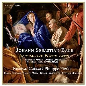 バッハ: 待降節&クリスマスのカンタータ集 / J.S. Bach: In tempore Nativitatis [輸入盤]