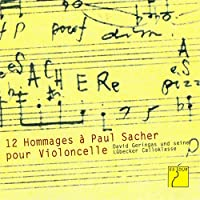 Douze Hommages à Paul Sacher pour Violoncelle (David Geringas and his Lübeck Cello Class)