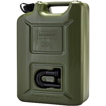 [ ヒューナースドルフ ] Hunersdorff 燃料タンク ポリタンク フューエルカンプロ 20L ウォータータンク 8020 燃料 灯油 タンク キャニスター キャンプ [並行輸入品]