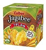 カルビー じゃがビー Jagabee  うすしお味 90g × 12個