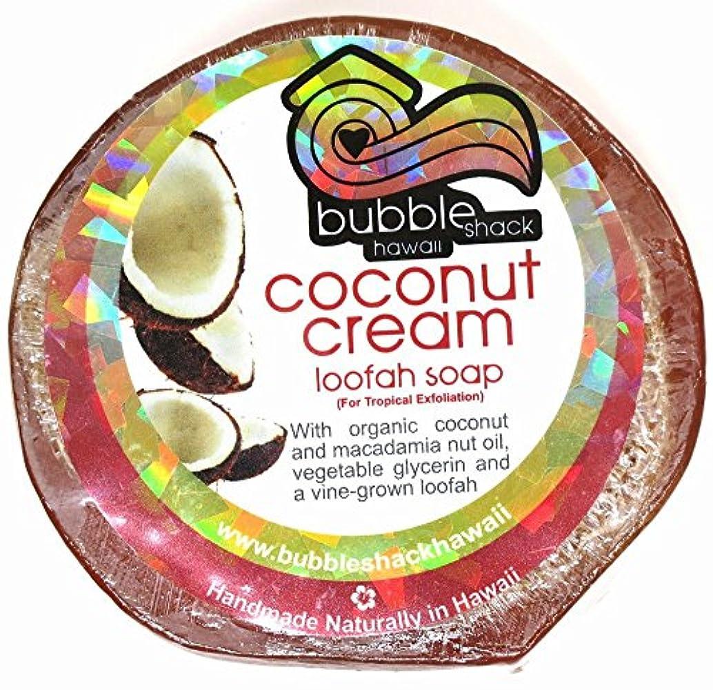 歌詞偽不十分なハワイアン雑貨/ハワイ 雑貨【バブルシャック】Bubble Shack Hawaii ルーファーソープ(ココナッツクリーム) 【お土産】