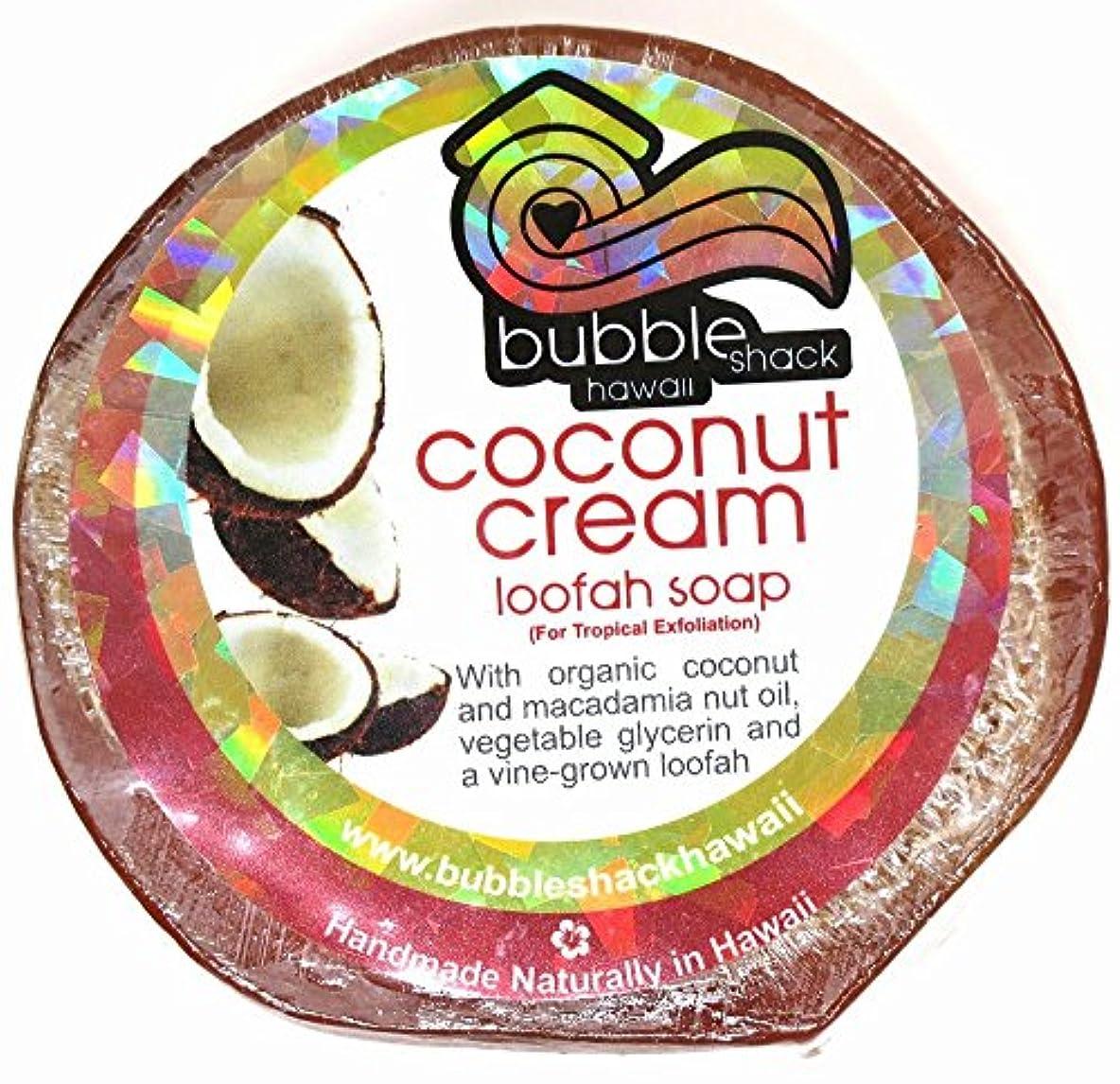 明日批判的いらいらさせるハワイアン雑貨/ハワイ 雑貨【バブルシャック】Bubble Shack Hawaii ルーファーソープ(ココナッツクリーム) 【お土産】