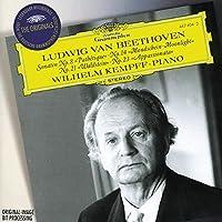 Beethoven: Piano Sonatas No. 8, Pathテゥtique/ No. 14, Moonlight/ No. 21, Waldstein/ No. 23, Appassionata by Wilhelm Kempff (1996-01-23)
